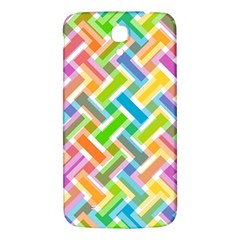 Abstract Pattern Colorful Wallpaper Background Samsung Galaxy Mega I9200 Hardshell Back Case