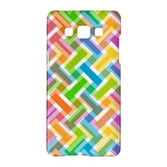 Abstract Pattern Colorful Wallpaper Background Samsung Galaxy A5 Hardshell Case