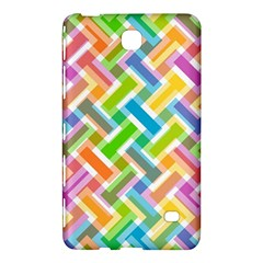 Abstract Pattern Colorful Wallpaper Background Samsung Galaxy Tab 4 (8 ) Hardshell Case