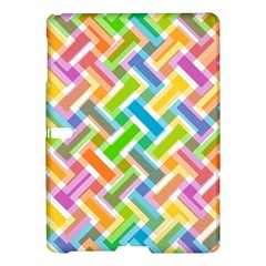 Abstract Pattern Colorful Wallpaper Background Samsung Galaxy Tab S (10.5 ) Hardshell Case