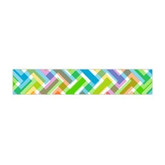 Abstract Pattern Colorful Wallpaper Background Flano Scarf (Mini)