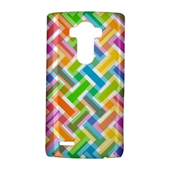 Abstract Pattern Colorful Wallpaper Background LG G4 Hardshell Case