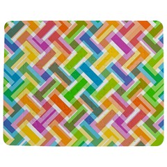 Abstract Pattern Colorful Wallpaper Background Jigsaw Puzzle Photo Stand (Rectangular)