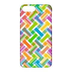 Abstract Pattern Colorful Wallpaper Background Apple iPhone 7 Plus Hardshell Case