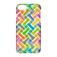 Abstract Pattern Colorful Wallpaper Background Apple iPhone 7 Hardshell Case
