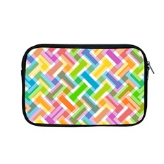 Abstract Pattern Colorful Wallpaper Background Apple MacBook Pro 13  Zipper Case