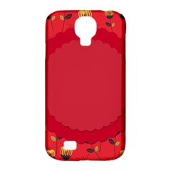 Floral Roses Pattern Background Seamless Samsung Galaxy S4 Classic Hardshell Case (pc+silicone) by Simbadda