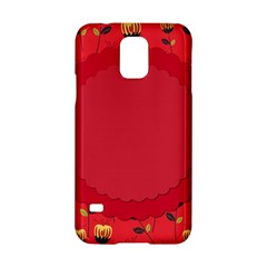 Floral Roses Pattern Background Seamless Samsung Galaxy S5 Hardshell Case  by Simbadda
