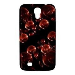 Fractal Chocolate Balls On Black Background Samsung Galaxy Mega 6 3  I9200 Hardshell Case by Simbadda