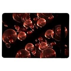Fractal Chocolate Balls On Black Background Ipad Air Flip