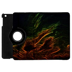 Abstract Glowing Edges Apple Ipad Mini Flip 360 Case by Simbadda