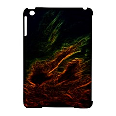 Abstract Glowing Edges Apple Ipad Mini Hardshell Case (compatible With Smart Cover) by Simbadda