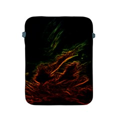 Abstract Glowing Edges Apple Ipad 2/3/4 Protective Soft Cases by Simbadda