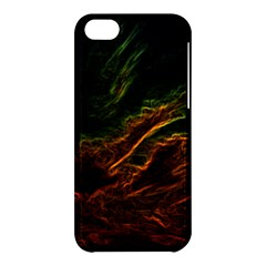 Abstract Glowing Edges Apple Iphone 5c Hardshell Case by Simbadda