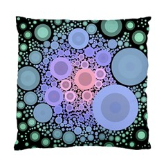 An Abstract Background Consisting Of Pastel Colored Circle Standard Cushion Case (one Side) by Simbadda