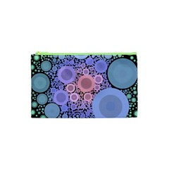 An Abstract Background Consisting Of Pastel Colored Circle Cosmetic Bag (xs) by Simbadda