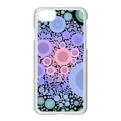 An Abstract Background Consisting Of Pastel Colored Circle Apple Iphone 7 Seamless Case (white) by Simbadda