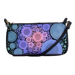 An Abstract Background Consisting Of Pastel Colored Circle Shoulder Clutch Bags by Simbadda