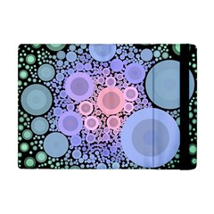 An Abstract Background Consisting Of Pastel Colored Circle Apple Ipad Mini Flip Case by Simbadda