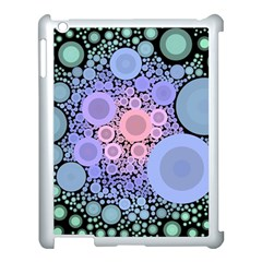 An Abstract Background Consisting Of Pastel Colored Circle Apple Ipad 3/4 Case (white) by Simbadda
