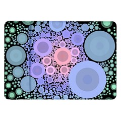 An Abstract Background Consisting Of Pastel Colored Circle Samsung Galaxy Tab 8 9  P7300 Flip Case by Simbadda