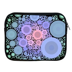 An Abstract Background Consisting Of Pastel Colored Circle Apple Ipad 2/3/4 Zipper Cases by Simbadda