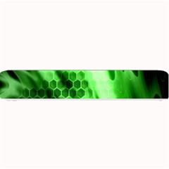 Abstract Background Green Small Bar Mats by Simbadda