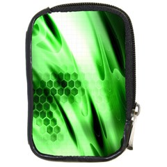 Abstract Background Green Compact Camera Cases by Simbadda