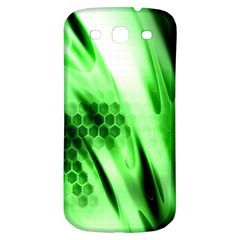 Abstract Background Green Samsung Galaxy S3 S Iii Classic Hardshell Back Case by Simbadda