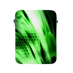 Abstract Background Green Apple Ipad 2/3/4 Protective Soft Cases by Simbadda