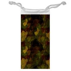 Textured Camo Jewelry Bag by Simbadda