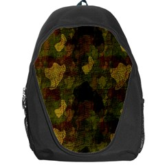 Textured Camo Backpack Bag by Simbadda