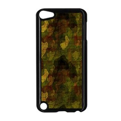 Textured Camo Apple Ipod Touch 5 Case (black) by Simbadda