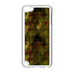 Textured Camo Apple Ipod Touch 5 Case (white) by Simbadda
