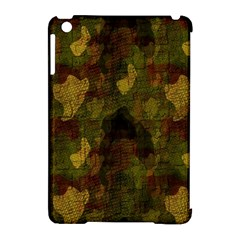 Textured Camo Apple Ipad Mini Hardshell Case (compatible With Smart Cover) by Simbadda