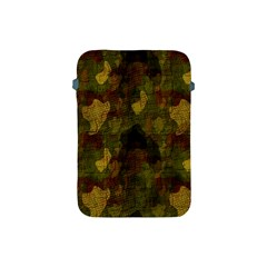 Textured Camo Apple Ipad Mini Protective Soft Cases by Simbadda
