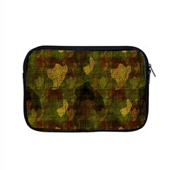 Textured Camo Apple Macbook Pro 15  Zipper Case by Simbadda
