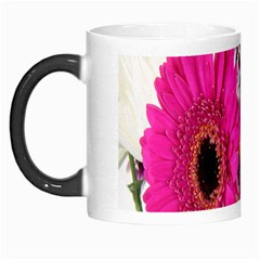 Purple White Flower Bouquet Morph Mugs by Simbadda