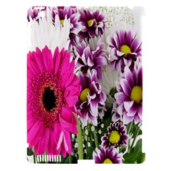 Purple White Flower Bouquet Apple Ipad 3/4 Hardshell Case (compatible With Smart Cover) by Simbadda