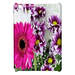 Purple White Flower Bouquet Apple Ipad Mini Hardshell Case by Simbadda