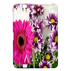Purple White Flower Bouquet Kindle Fire Hd 8 9  by Simbadda