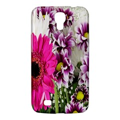 Purple White Flower Bouquet Samsung Galaxy Mega 6 3  I9200 Hardshell Case by Simbadda