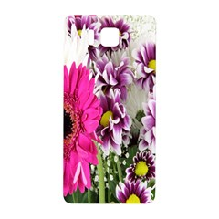 Purple White Flower Bouquet Samsung Galaxy Alpha Hardshell Back Case by Simbadda