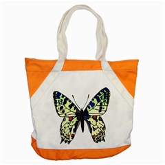 A Colorful Butterfly Image Accent Tote Bag by Simbadda