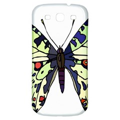 A Colorful Butterfly Image Samsung Galaxy S3 S Iii Classic Hardshell Back Case by Simbadda