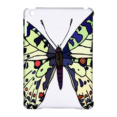A Colorful Butterfly Image Apple Ipad Mini Hardshell Case (compatible With Smart Cover) by Simbadda
