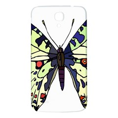A Colorful Butterfly Image Samsung Galaxy Mega I9200 Hardshell Back Case by Simbadda