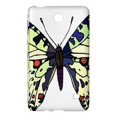 A Colorful Butterfly Image Samsung Galaxy Tab 4 (8 ) Hardshell Case  by Simbadda