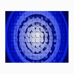 Abstract Background Blue Created With Layers Small Glasses Cloth (2 Side) by Simbadda