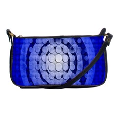 Abstract Background Blue Created With Layers Shoulder Clutch Bags by Simbadda